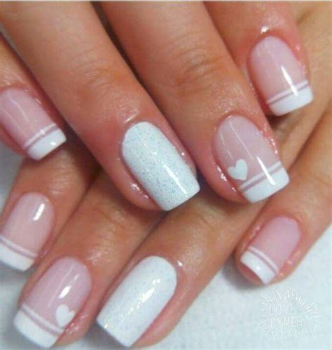 imagenes uñas francesas decoradas m 225 s de 1000 ideas sobre manicura ne 243 n en pinterest u 241 as