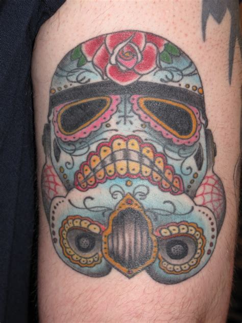 clone trooper tattoo another sugar skull clone trooper tattoos