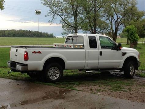f250 long bed sell used 08 f250 powerstroke ext cab long bed white