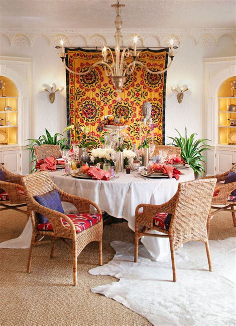 Colorful moroccan inspired dinner party with recipes traditional home