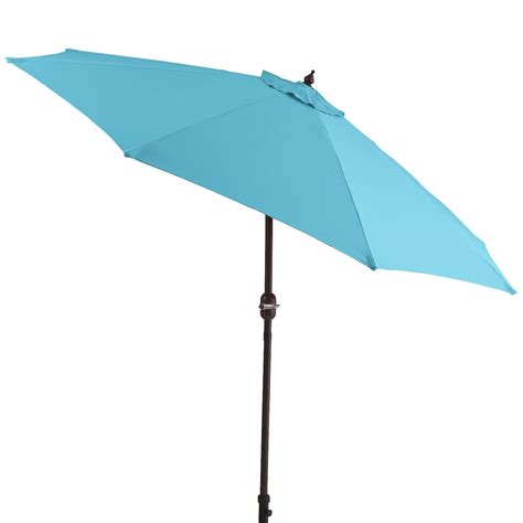 Patio Umbrella Turquoise 9 Turquoise Aluminum Tilting Umbrella Backyard Mamma