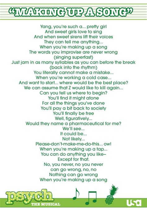 theme song lyrics best 25 psych theme song ideas on pinterest psych