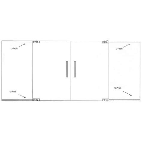 swing glass door wave type 1 grooved glass door design