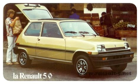 renault car 1980 renault 5 quot le car quot 1980 all about renault 5
