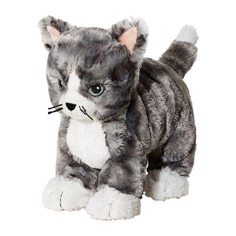 Fluffy Rugs Ikea by Lilleplutt Soft Toy Cat Grey White Ikea