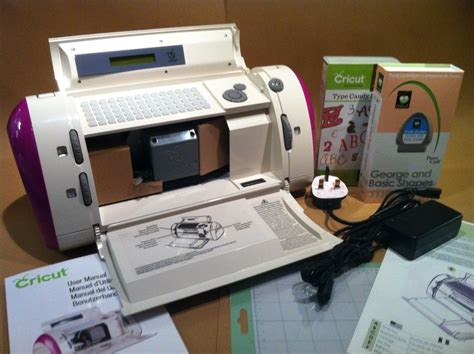 Paper Crafting Machines - cricut personal electric paper craft machine plus your