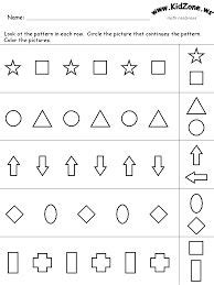 pattern continuation worksheet 1000 images about education on pinterest worksheets