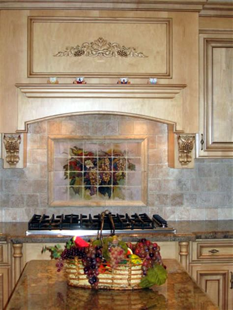 murals for kitchen backsplash tile murals kitchen backsplashes tile art for bathrooms