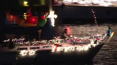 san pedro boat show christmas boat parade san pedro california 2011 youtube