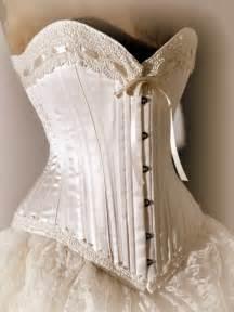 Honeymoon Corset Corset Wedding Dresses Ivory Wedding Dress Silk Corset And Bustle Skirt By Labellefairy