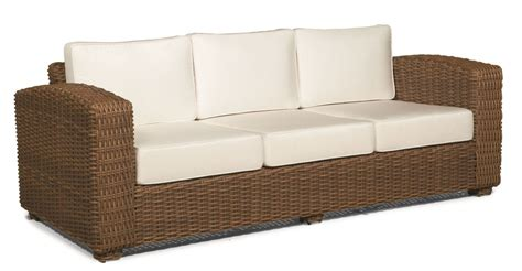 Wicker Sofa by Outdoor Wicker Sofa Monaco