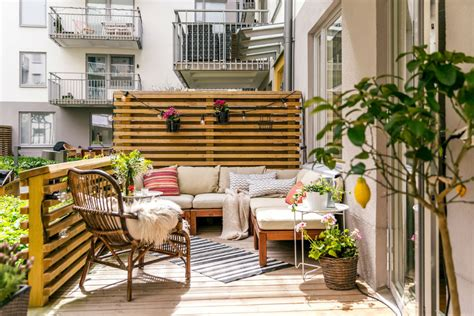 Outdoor Wohnzimmer by 22 Charming Scandinavian Small Balcony Designs