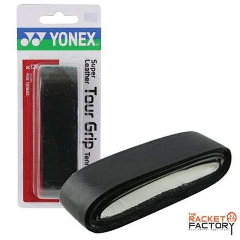 yonex tennis replacement grip leather polyurethane pack of 1 the racket factory