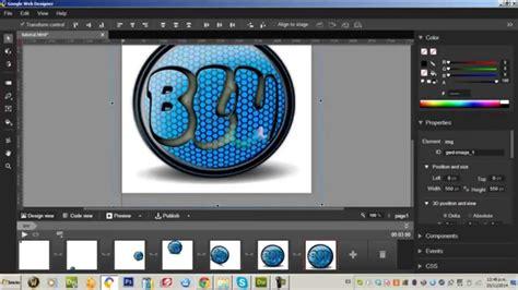 tutorial web designer google tutorial como animar un logo con google web designer youtube
