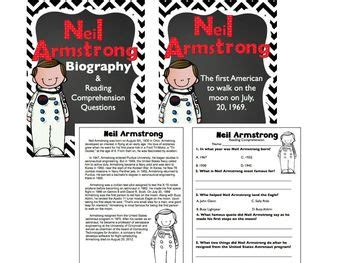 biography of neil armstrong ks2 neil armstrong freebie biography article reading