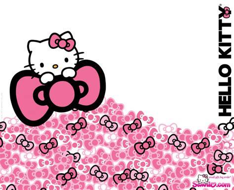 wallpaper hello kitty ribbon hello kitty pink ribbon cartoon