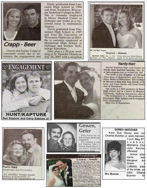 Worst Wedding Announcement Last Names by 25 Best Ideas About Wedding Announcements On