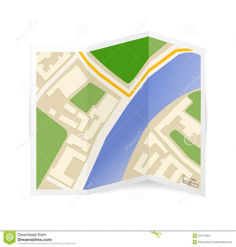 jpg to eps format vector map icon stock vector image of drawing road