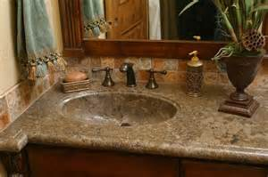 one bathroom sink counter concrete sink