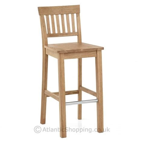 Oak Breakfast Bar Stools by Grasmere Wooden Oak Kitchen Breakfast Bar Stool Ebay