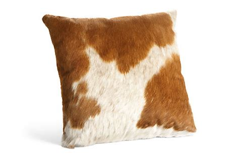 Cowhide Pillow - cowhide modern throw pillows modern throw