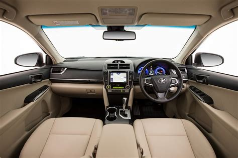 toyota camry 2017 interior 2017 toyota camry hybrid review behind the wheel