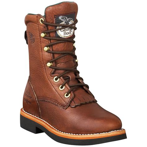 s work boots s 174 lacer walnut work boots 186344 work