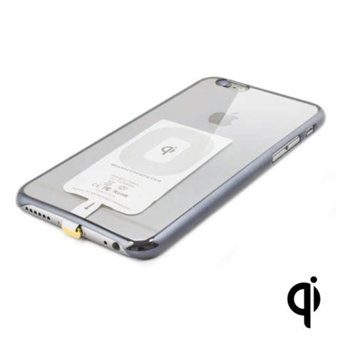 qi case compatible iphone     wireless