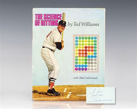 Pdf Science Hitting Ted Williams by The Science Of Hitting Ted Williams Edition Signed