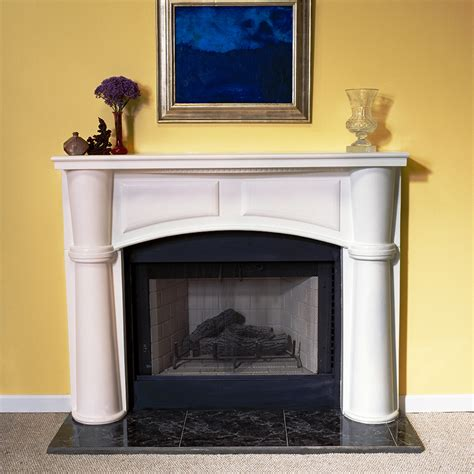 Plaster Fireplace Mantels by A Plus Inc Brookhaven 36