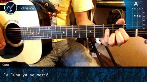 tocar las mananitas paso a paso con guitarra c 243 mo tocar quot las ma 241 anitas quot en guitarra ac 250 stica hd