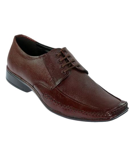 r a shoes leather vittaly brown leather formal shoes price in india buy