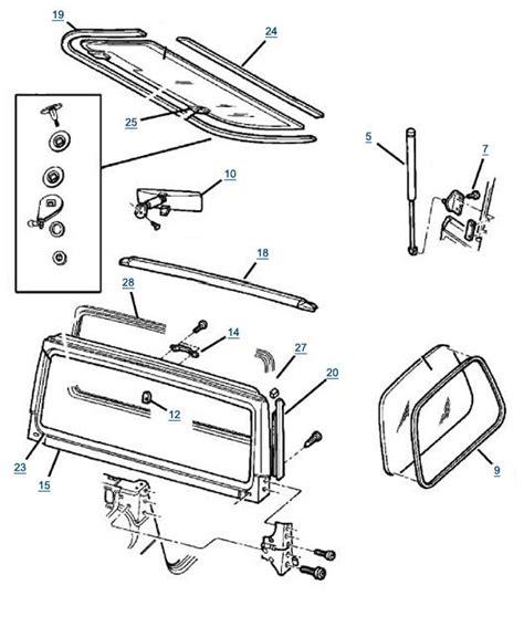 2004 jeep wrangler rear wiper wiring diagram wiring