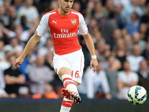 arsenal next match aaron ramsey to feature in arsenal squad during next