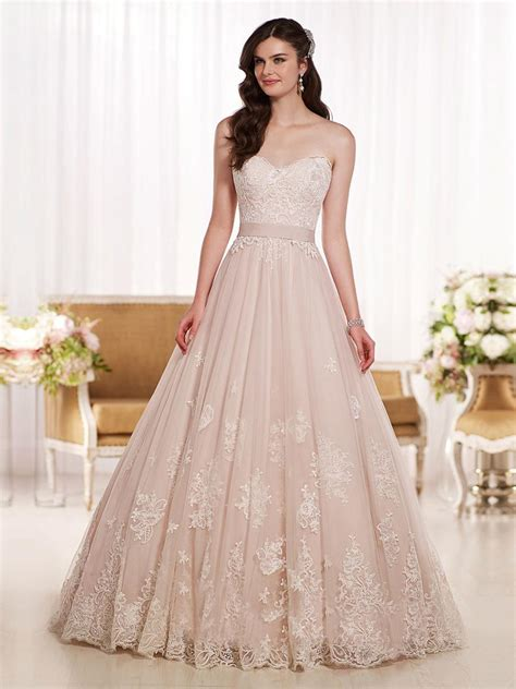 Wedding Gown Fabulosity On A Budget by Princess Blush Pink Wedding Dresses Sweetheart 2016