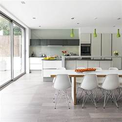 Kitchen Bench Extension Ideas White Social Kitchen Diner Extension Kitchen Extension