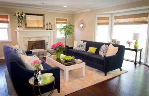 navy couch living room accent couch and pillow ideas for a cool contemporary home