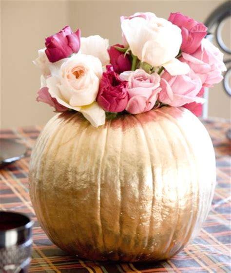 gold pumpkin centerpieces best 25 gold pumpkin ideas on pumpkin