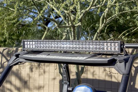 polaris rzr light bar utv inc totron 30 quot led light bar kit polaris rzr forum