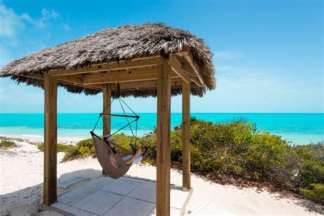 Tiki Hut Turks Beaches Bay Providenciales Provo