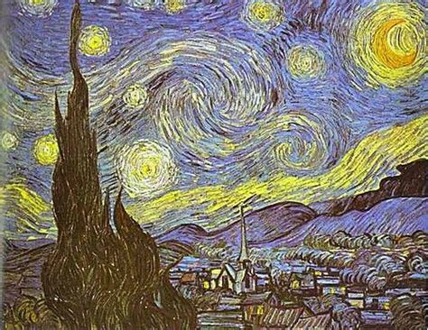museum of modern kunstwerke dit is het kunstwerk sterrennacht vincent gogh