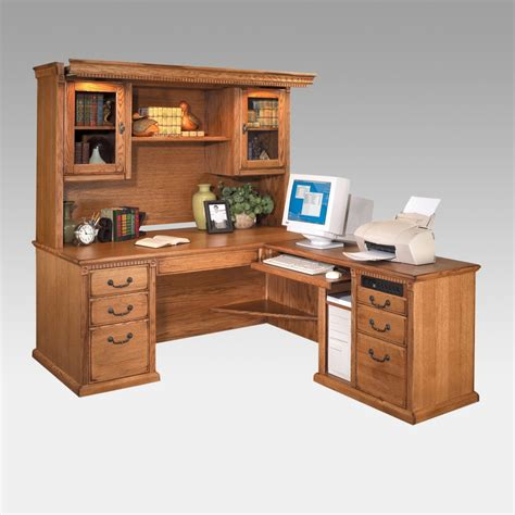 Furniture Best Mainstays L Shaped Desk With Hutch For Home Office Desk With Hutch L Shaped