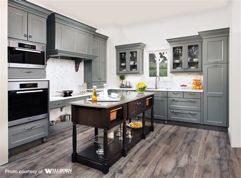 cherry kitchen cabinets kitchens with grey floors kitchen maple cabinets stained in a rich grey tone complemented