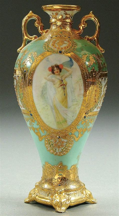 Nippon Porcelain Vase by 17 Best Images About Portraits On Porcelain On Porcelain Vase Ruby And Vase