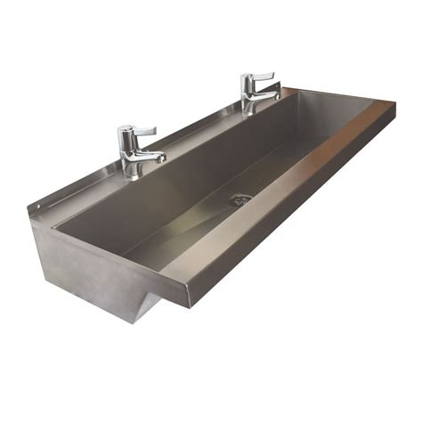 stainless steel trough sink stainless steel trough sinks home design ideas and