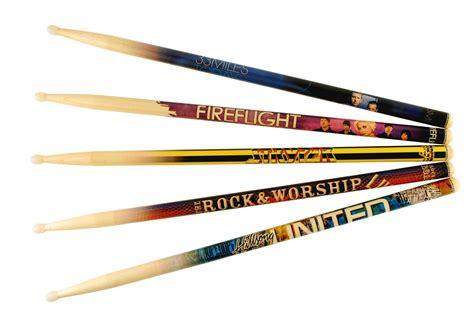 Handmade Drumsticks - blown away innovations custom graphic drumsticks