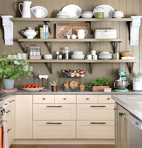small kitchen organizing ideas wooden shelves click
