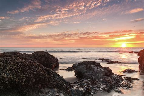 lincoln city oregon beaches lincoln city sunset oregon coast photograph by