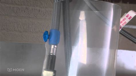 Pull Down Kitchen Faucet how to install a moen hose corral for a pulldown and