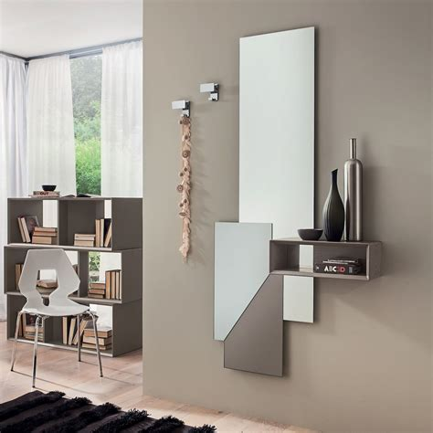 specchio appendiabiti da ingresso specchiera moderna da ingresso con appendiabiti alfred